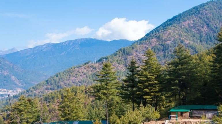 भूटान का मशहूर दर्शनीय स्थल फोबजीखा घाटी (गंगटी) - Phobjikha Valley (Gangtey)Famous Tourist Place In Bhutan In Hindi