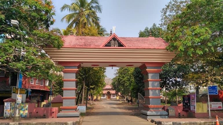 कोच्चि का प्रमुख दर्शनीय स्थल एर्नाकुलम महादेव मंदिर - Kochi Ka Pramukh Darshaniya Sthal Ernakulam Mahadev Temple In Hindi