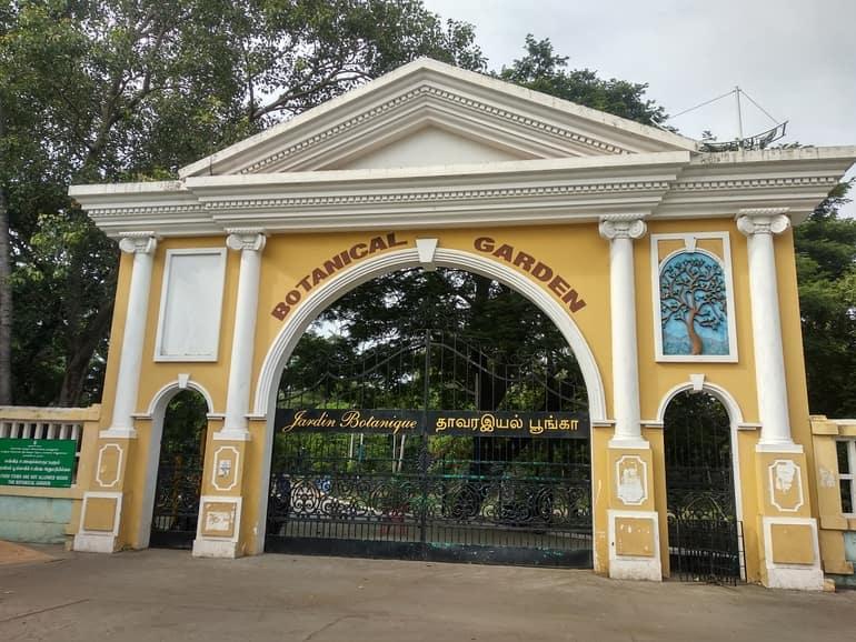 पांडिचेरी पर्यटन की लोकप्रिय जगह बॉटनिकल गार्डन - Pondicherry Paryatan Ki Lokpriya Jagah Botanical Garden In Hindi