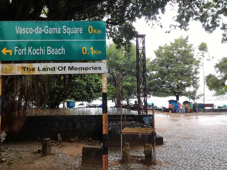 कोच्चि पर्यटन का आकर्षण स्थान वास्को डी गामा स्क्वायर - Kochi Paryatan Ka Aakarshan Sthan Vasco Da Gama Square In Hindi