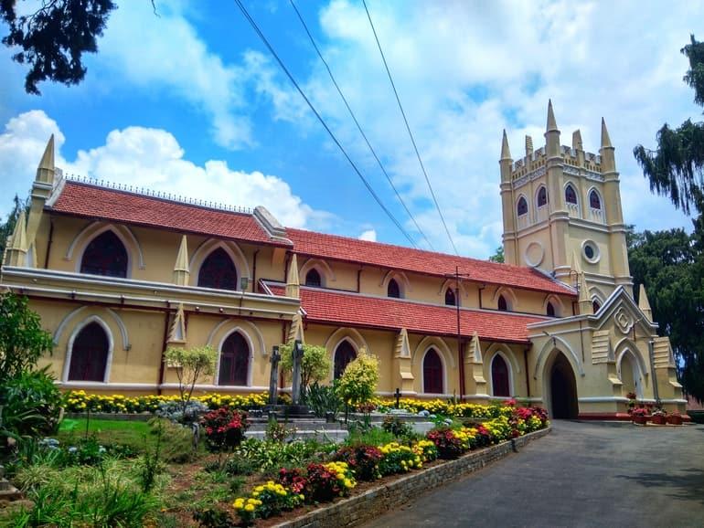 कुन्नूर में घूमने की अच्छी जगह ऑल सेंट्स चर्च कुन्नूर - Coonoor Me Ghumne Ki Achi Jagah All Saints Church, Coonoor In Hindi