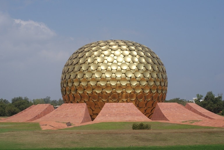 पांडिचेरी की फेमस टूरिस्ट प्लेस ऑरोविले - Pondicherry Ki Famous Tourist Place Auroville In Hindi