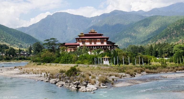 भूटान यात्रा में घूमने की सबसे अच्छी जगह पुनाखा - Bhutan Yatra Me Ghumne Ki Sabse Achi Jagah Punakha Tourism In Hindi