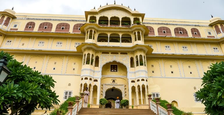 सामोद पैलेस जयपुर