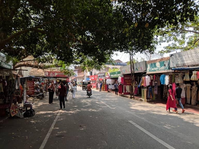 कोच्चि पर्यटन में देखने वाली जगह ज्यू टाउन - Kochi Paryatan Me Dekhne Wali Jagah Jew Town In Hindi