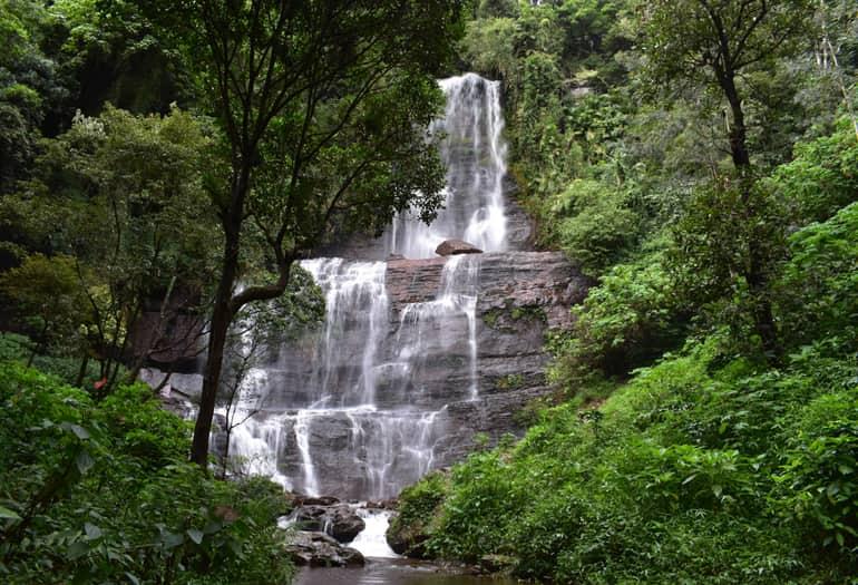 कुन्नूर का फेमस पिकनिक स्थल लॉज फॉल्स - Coonoor Famous Picnic Spot Law's Falls In Hindi