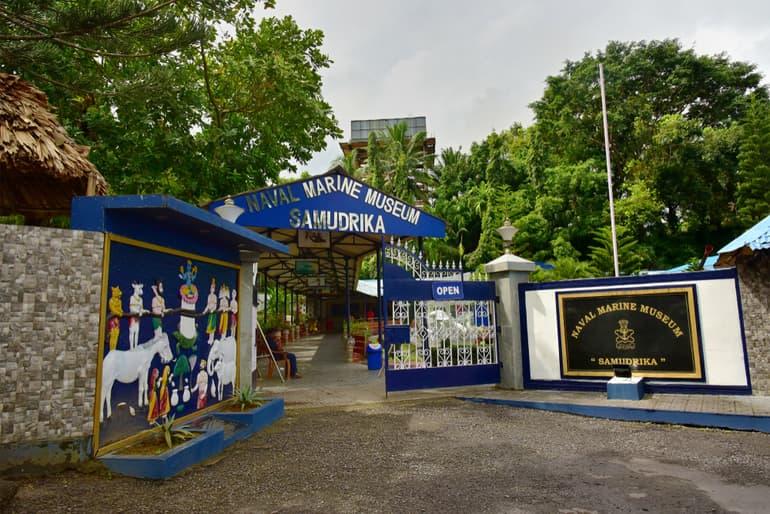 पोर्ट ब्लेयर का पर्यटन स्थल समुंद्रिका नवल मरीन संग्रहालय - Port Blair Ka Paryatan Sthal Samudrika Naval Marine Museum In Hindi