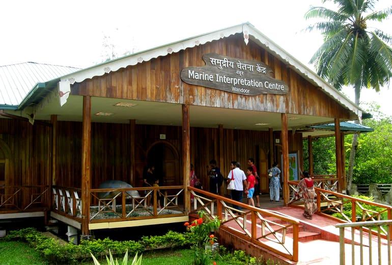पोर्ट ब्लेयर का फेमस टूरिस्ट प्लेस महात्मा गांधी मरीन नेशनल पार्क - Port Blair Ka Famous Tourist Place Mahatma Gandhi Marine National Park In Hindi
