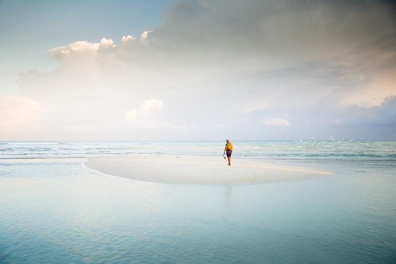 पोर्ट ब्लेयर में घूमने का अच्छा स्थान सैंडबार बीच - Port Blair Me Ghumne Ka Acha Sthan Sandbar Beach In Hindi