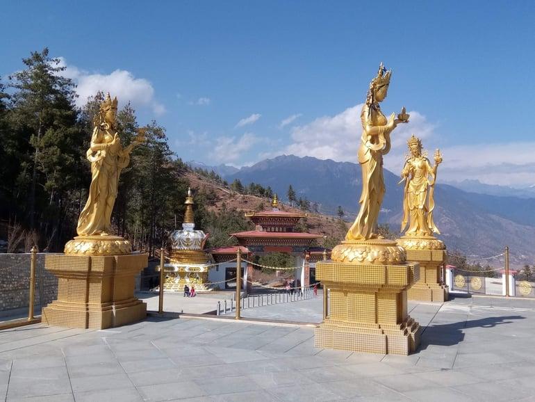 भूटान का प्रसिद्ध पर्यटन स्थल थिम्फु - Bhutan Ka Paryatan Sthal Thimphu Tourism In Hindi