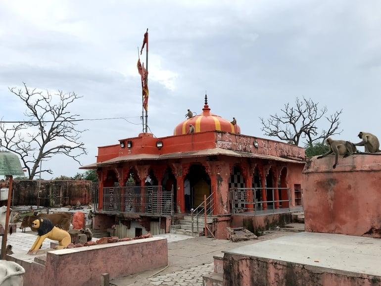 दाढ़ देवी मंदिर कोटा का इतिहास – Dadh Devi Temple Kota History In Hindi