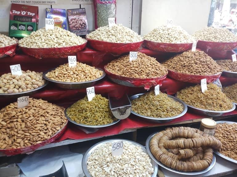 दिल्ली खारी बावली बाजार में आप क्या क्या कर सकते है - Things To Do In Khari Baoli in Hindi