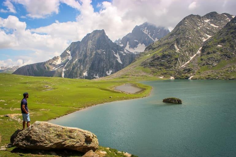 सोनमर्ग में घूमने वाली जगह गंगाबल झील