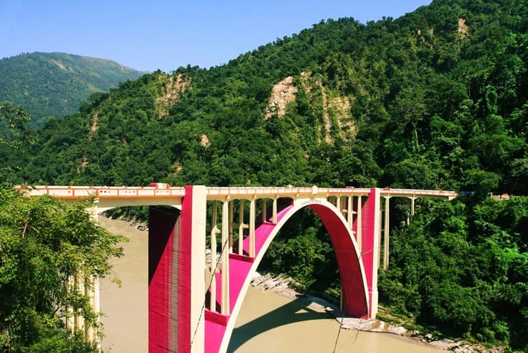 Siliguri Paryatan Me Dekhne Wali Jagah Coronation Bridge In Hindi