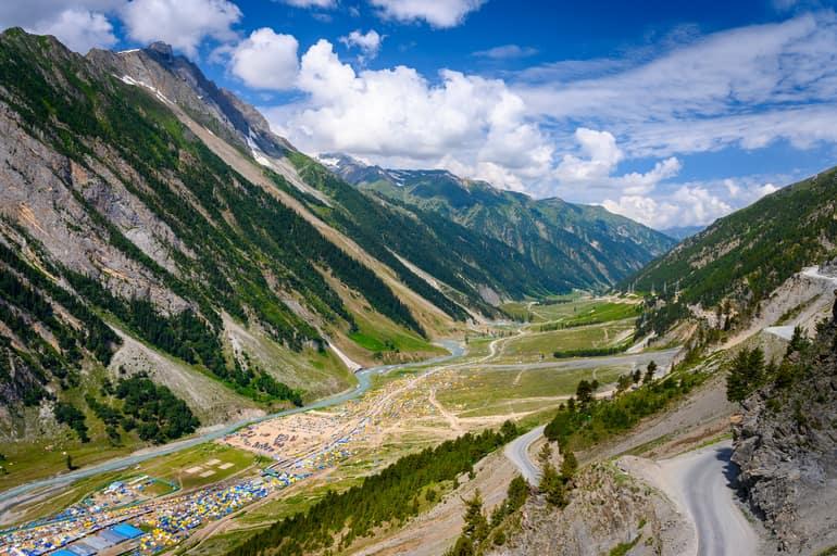 जम्मू कश्मीर की फेमस बालटाल घाटी घूमने की जानकारी - Information on visiting Baltal Valley