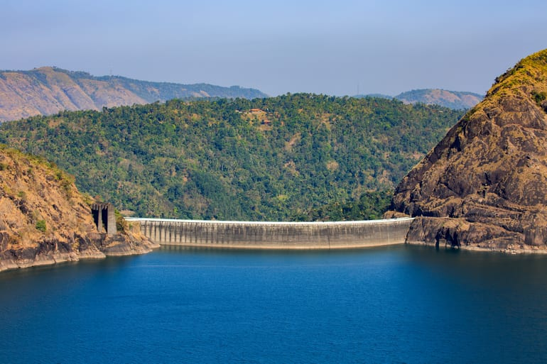 इडुक्की आर्क डेम - Idukki Arch Dam in Hindi