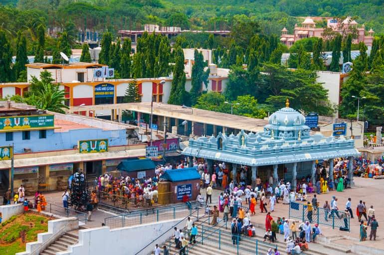 आंधप्रदेश के प्रसिद्ध मंदिर - Famous Temples of Andhra Pradesh in Hindi