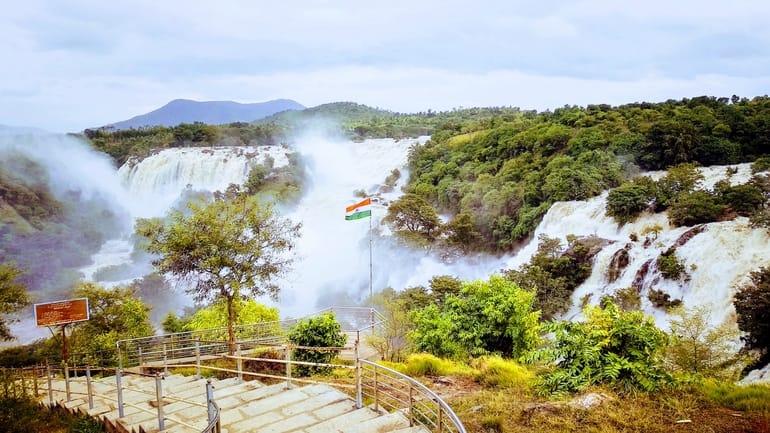 शिवनासमुद्र जलप्रपात घूमने की जानकारी - Shivanasamudra Falls in Hindi